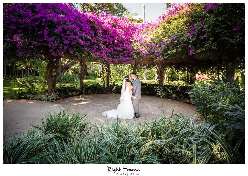 Wedding At The Hale Koa Hotel Maile Garden Waikiki Waikiki Wedding Photographers Honolulu Oahu Hawaii